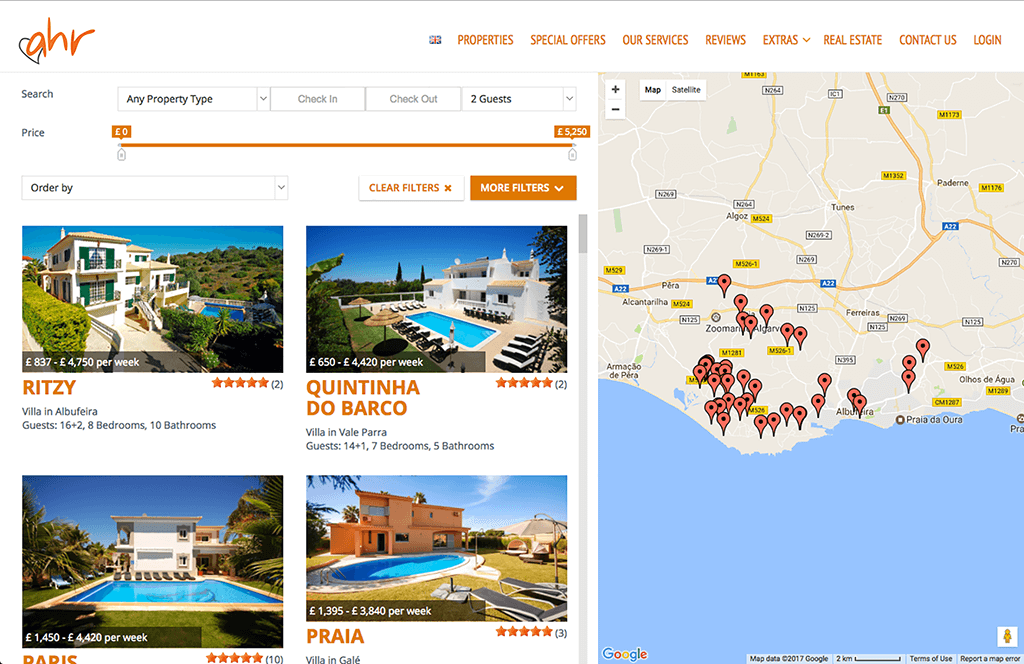 algarve holiday rentals